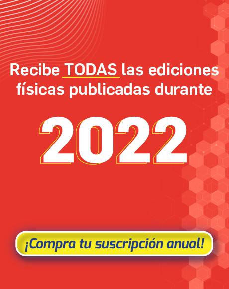 Suscripción revista física 2022